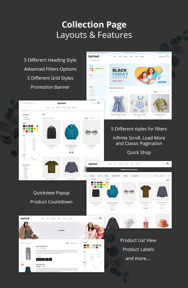 Optimal Multipurpose Shopify Theme - 11