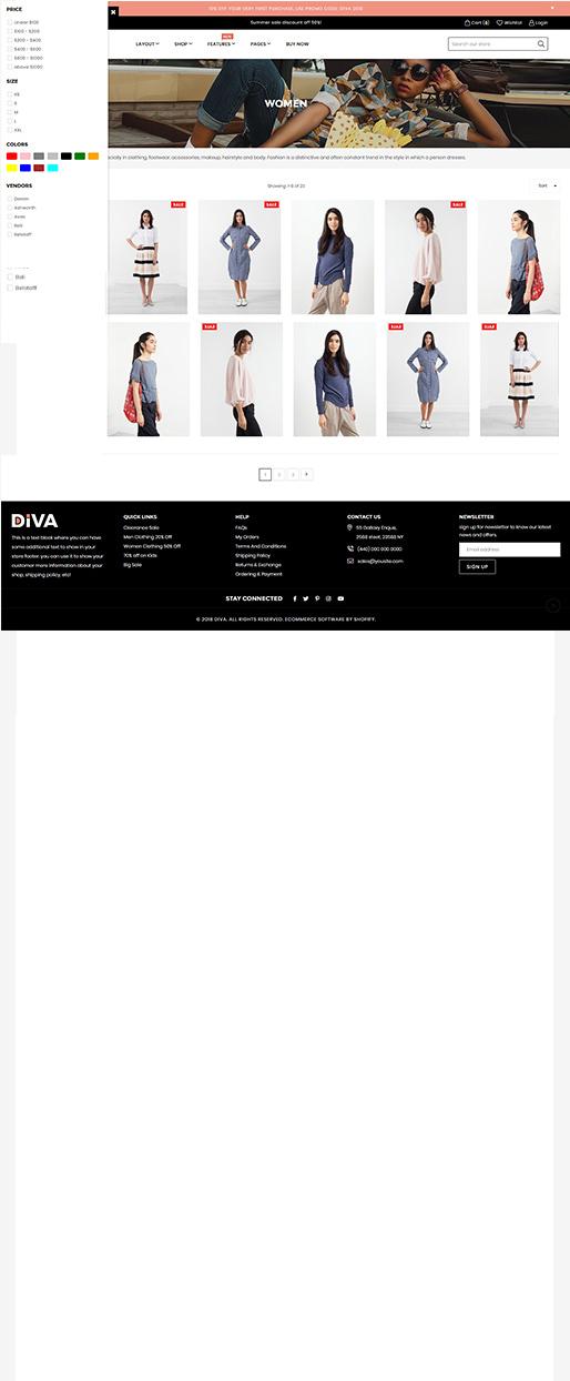 Diva Fullwidth Demo