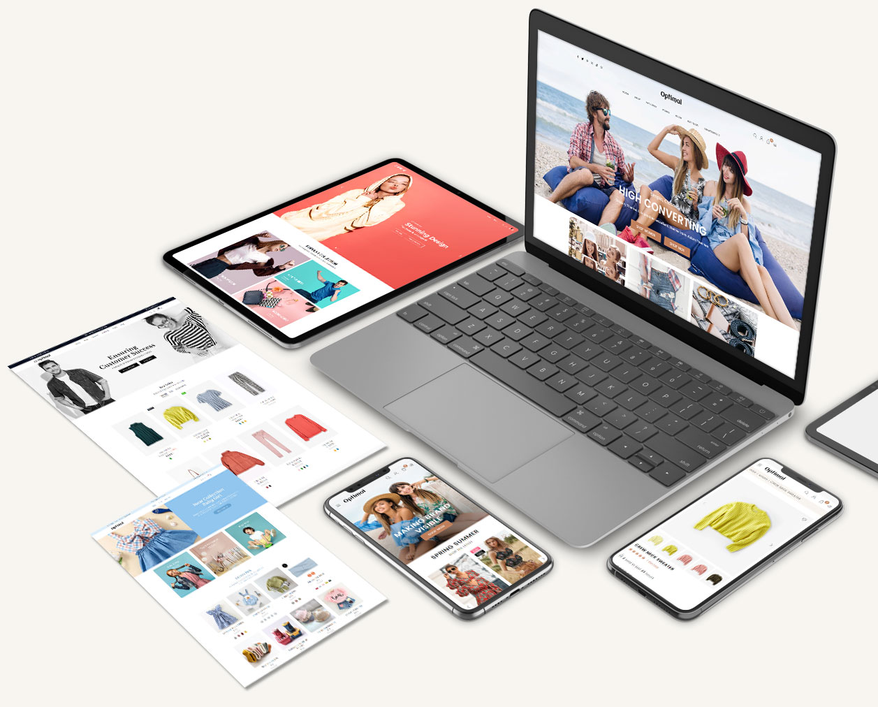 Mobile first and Fully Responsive Design
