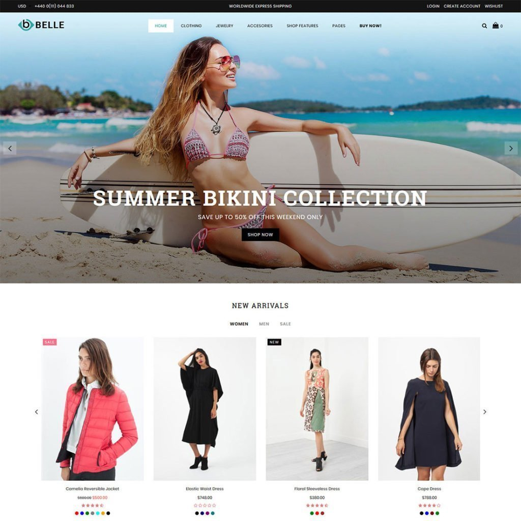 Belle Multipurpose Shopify Theme: Released - Adorn Themes
