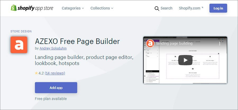 AZEXO Page Builder